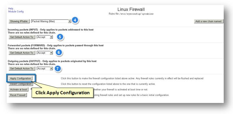Managing Firewall