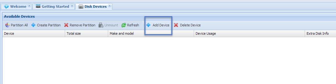 Adding Amazon EBS Disks
